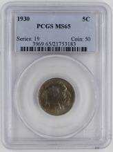 Lot 115: 1930 BUFFALO NICKEL