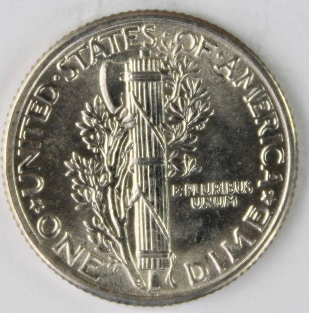 Lot 124: 1931 MERCURY DIME