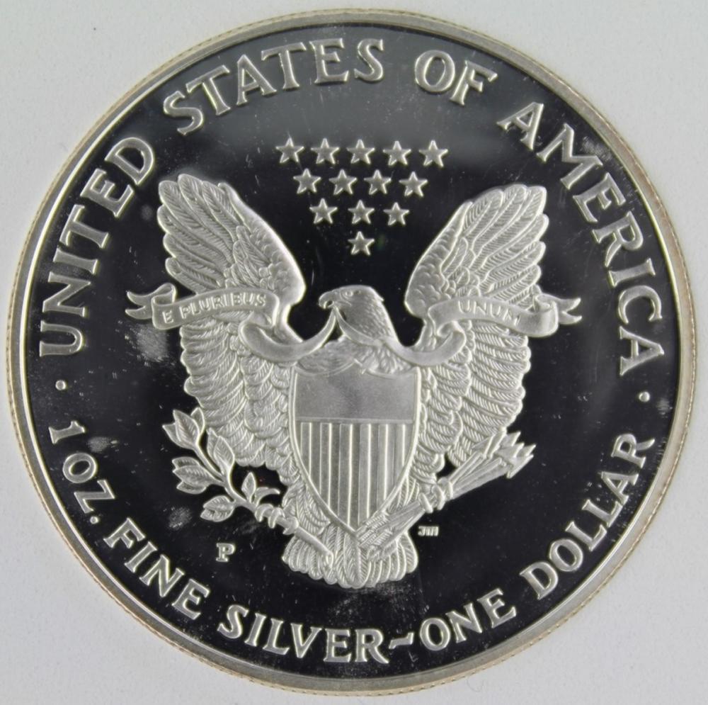 Lot 119: 1994-P AMERICAN SILVER EAGLE