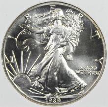 Lot 123: 1989 AMERICAN SILVER EAGLE