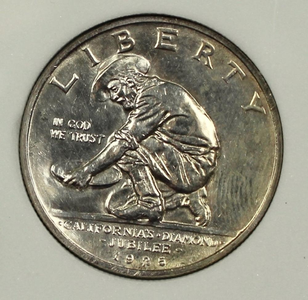 1925-S CALIFORNIA HALF DOLLAR
