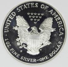 Lot 144: 2000-P AMERICAN SILVER EAGLE