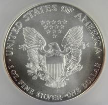 Lot 141: 2007 AMERICAN SILVER EAGLE