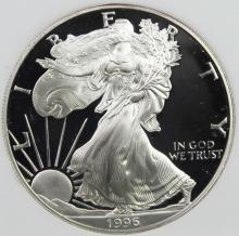 Lot 145: 1996-P AMERICAN SILVER EAGLE