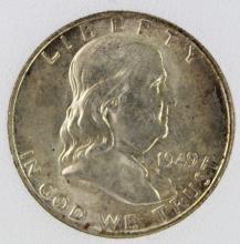 Lot 149: 1949-D FRANKLIN HALF DOLLAR