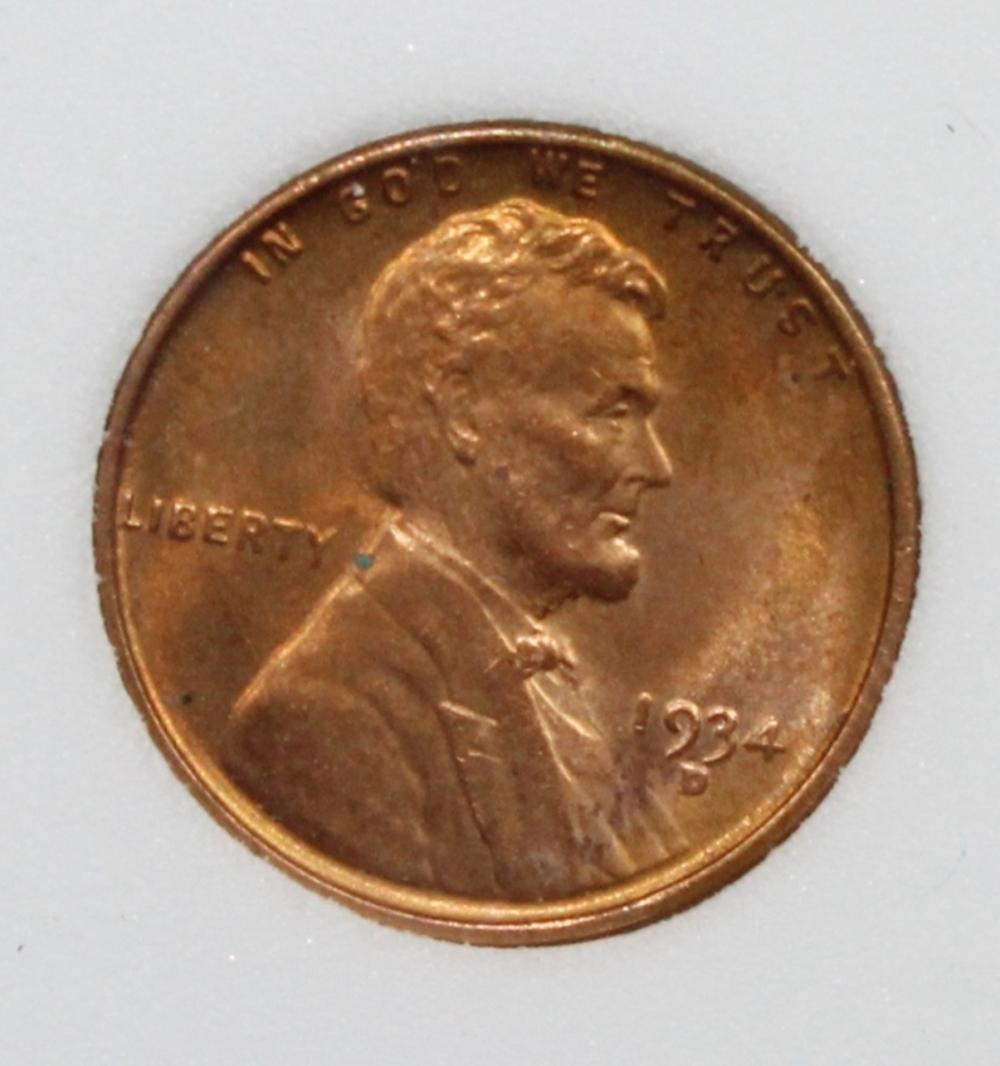 Lot 150: 1934-D LINCON CENT