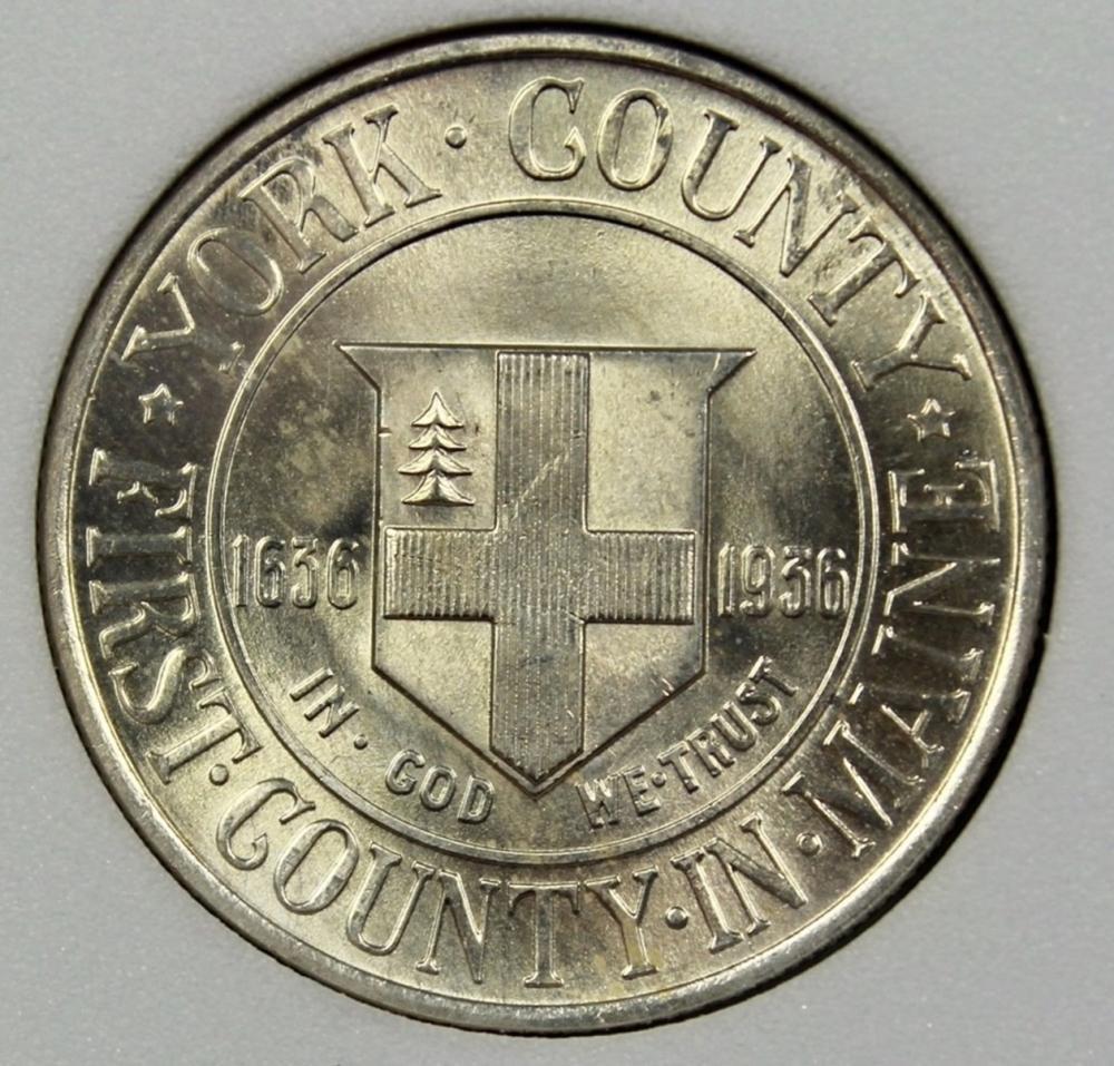 1936 YORK HALF DOLLAR