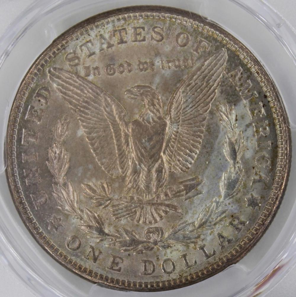 Lot 159: 1921-S MORGAN SILVER DOLLAR