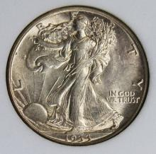 Lot 166: 1933-S WALKING LIBERTY HALF DOLLAR