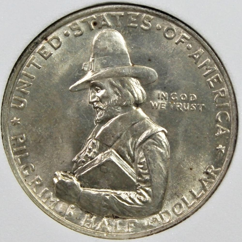 1920 PILGRIM HALF DOLLAR