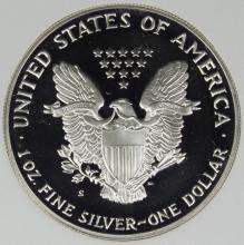 Lot 188: 1992-S AMERICAN SILVER EAGLE