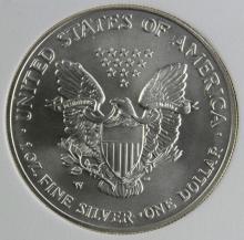 Lot 206: 2007-W AMERICAN SILVER EAGLE