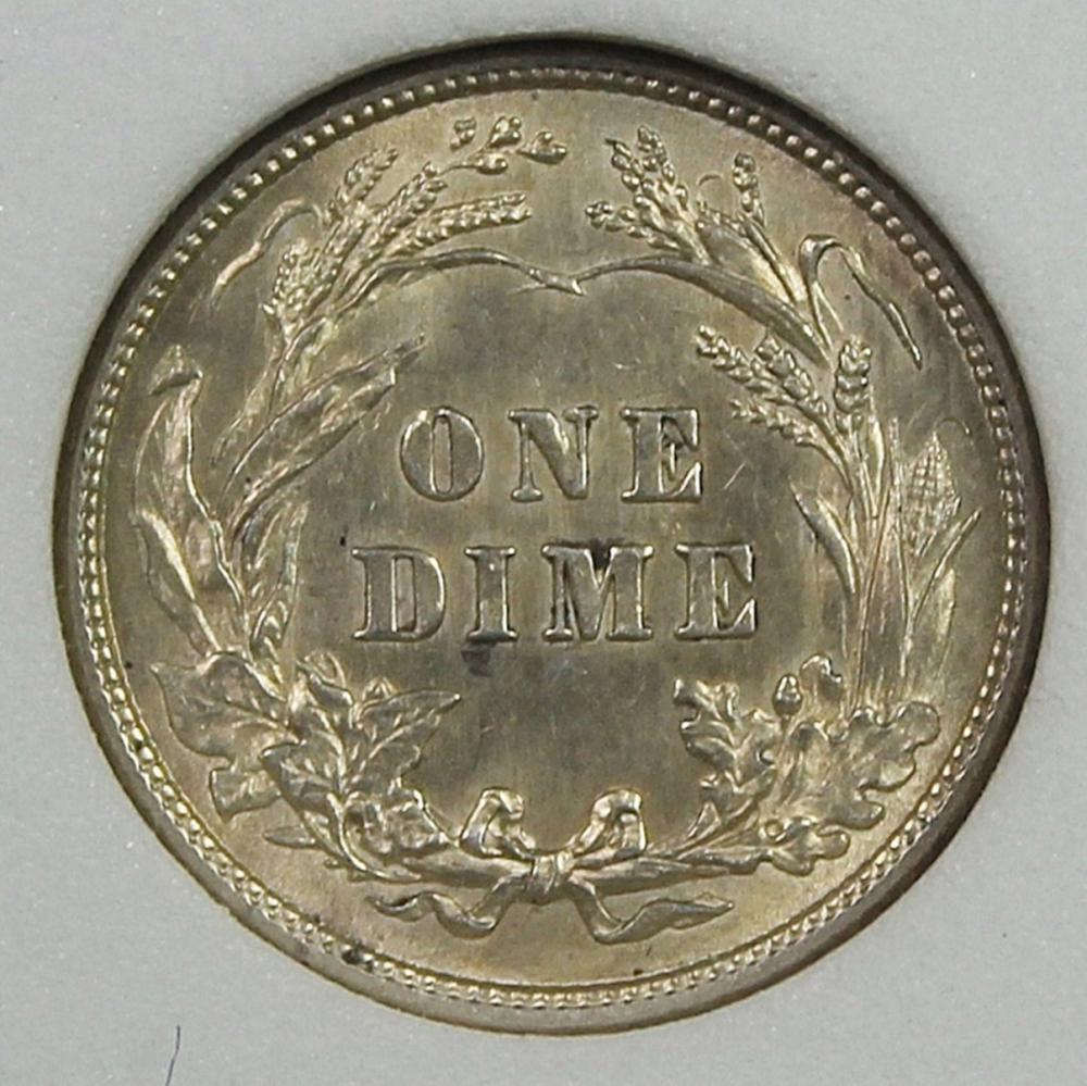 Lot 234: 1913 BARBER DIME