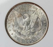 Lot 243: 1887 MORGAN SILVER DOLLAR