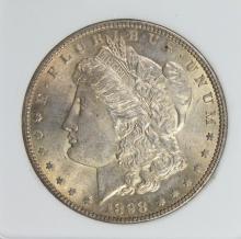 Lot 244: 1898 MORGAN SILVER DOLLAR