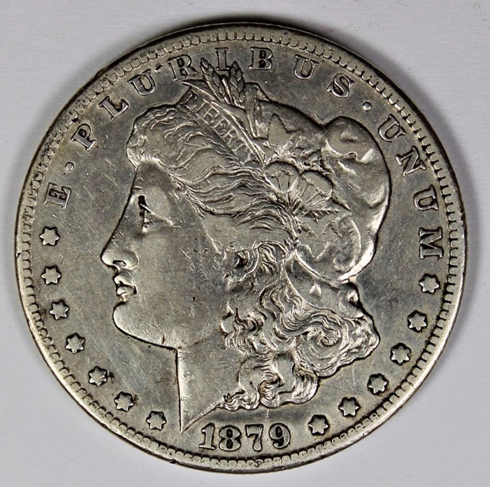 Lot 246: 1879-CC MORGAN SILVER DOLLAR