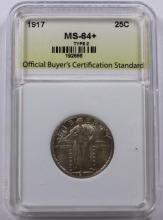 Lot 264: 1917 T-2 STANDING LIBERTY QUARTER