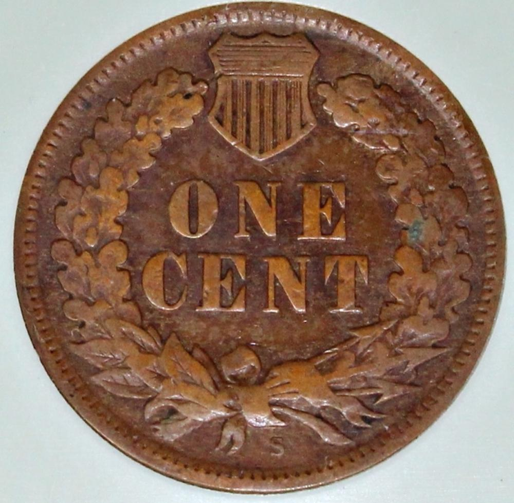 Lot 268: 1909-S INDIAN CENT