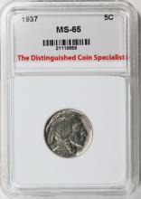 Lot 275: 1937 BUFFALO NICKEL