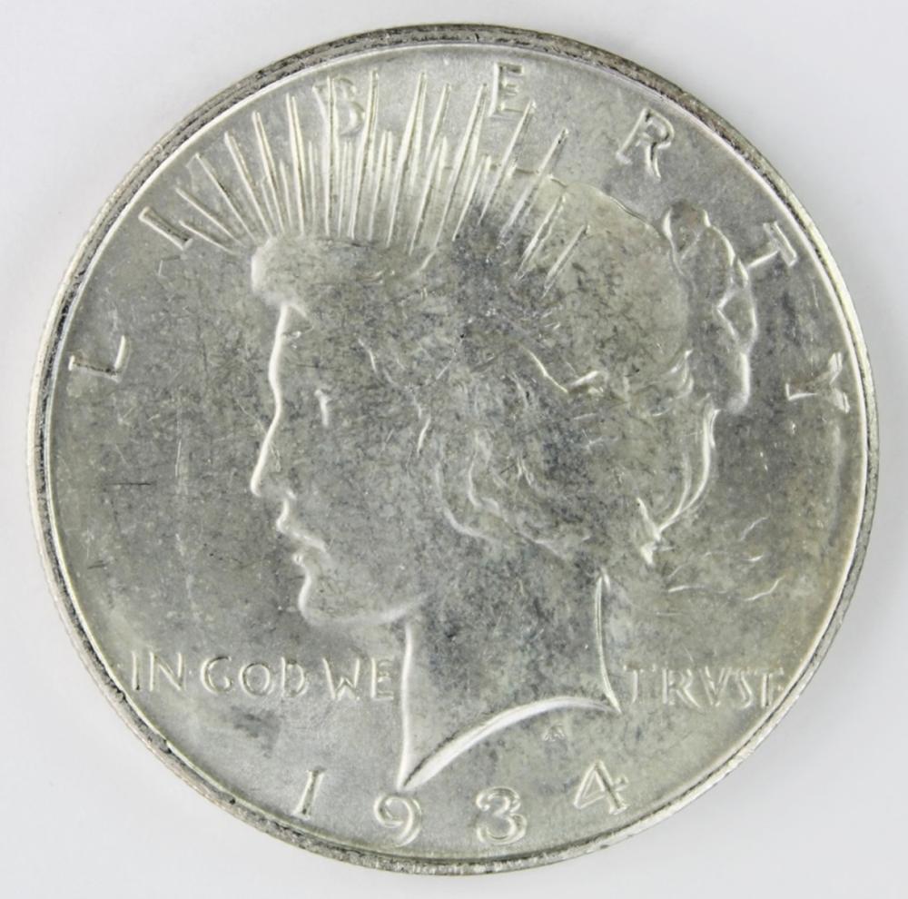 Lot 276: 1934-D PEACE DOLLAR