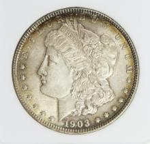 Lot 287: 1903 MORGAN SILVER DOLLAR