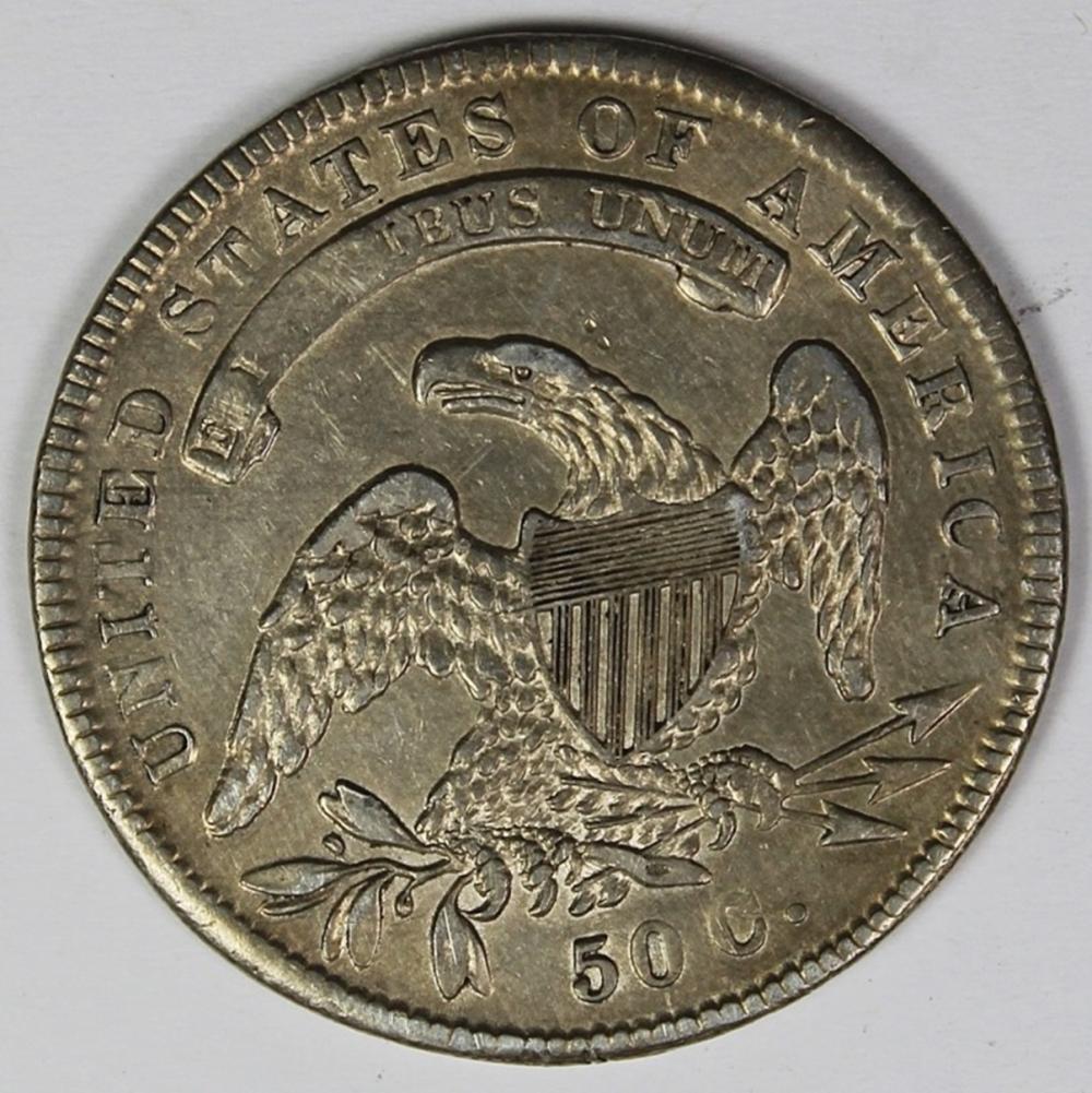 Lot 292: 1834 BUST HALF DOLLAR
