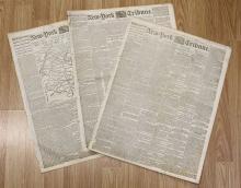 Lot 301: 3 DIFFERENT CIVIL WAR NEWSPAPERS