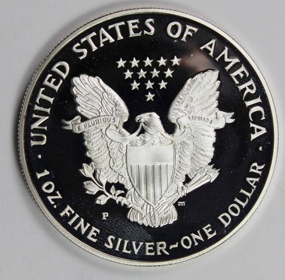 Lot 317: 1994 AMERICAN SILVER EAGLE