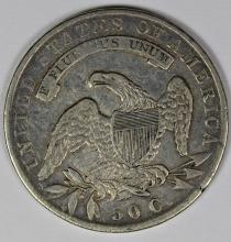 Lot 326: 1835 BUST HALF DOLLAR