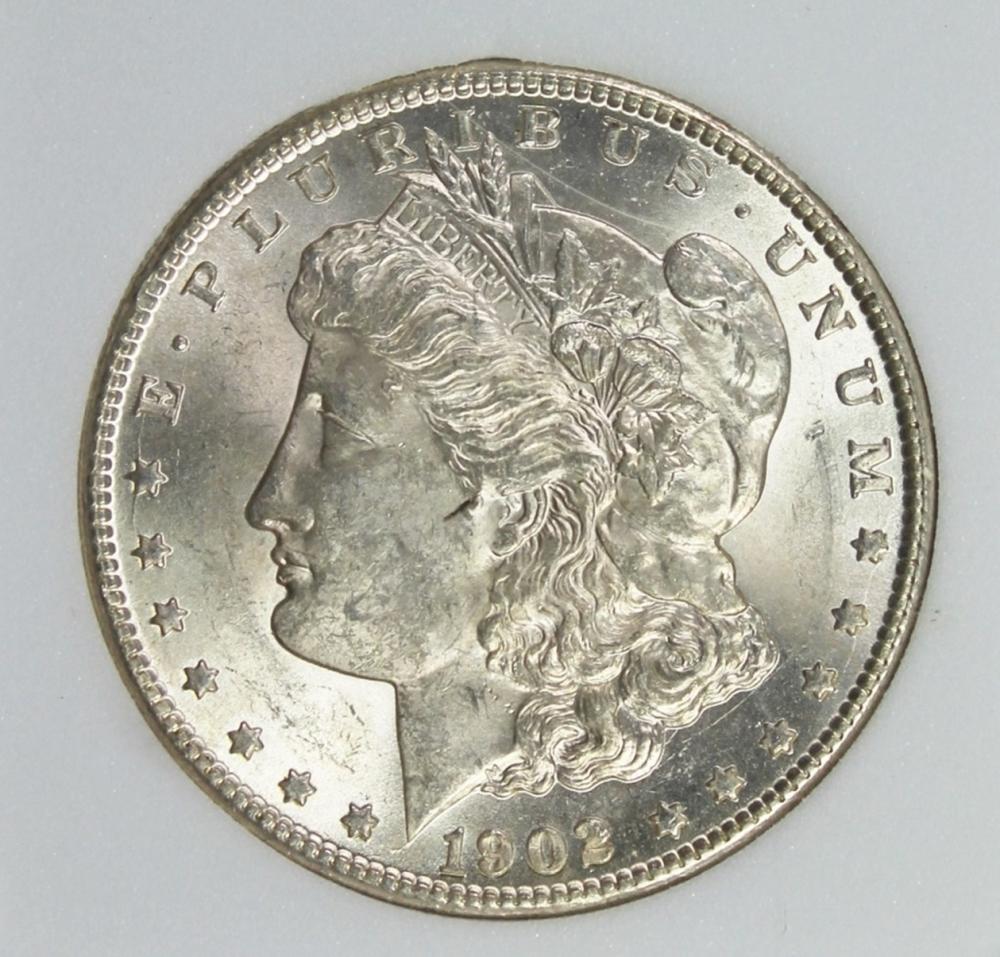 Lot 330: 1902-O MORGAN SILVER DOLLAR