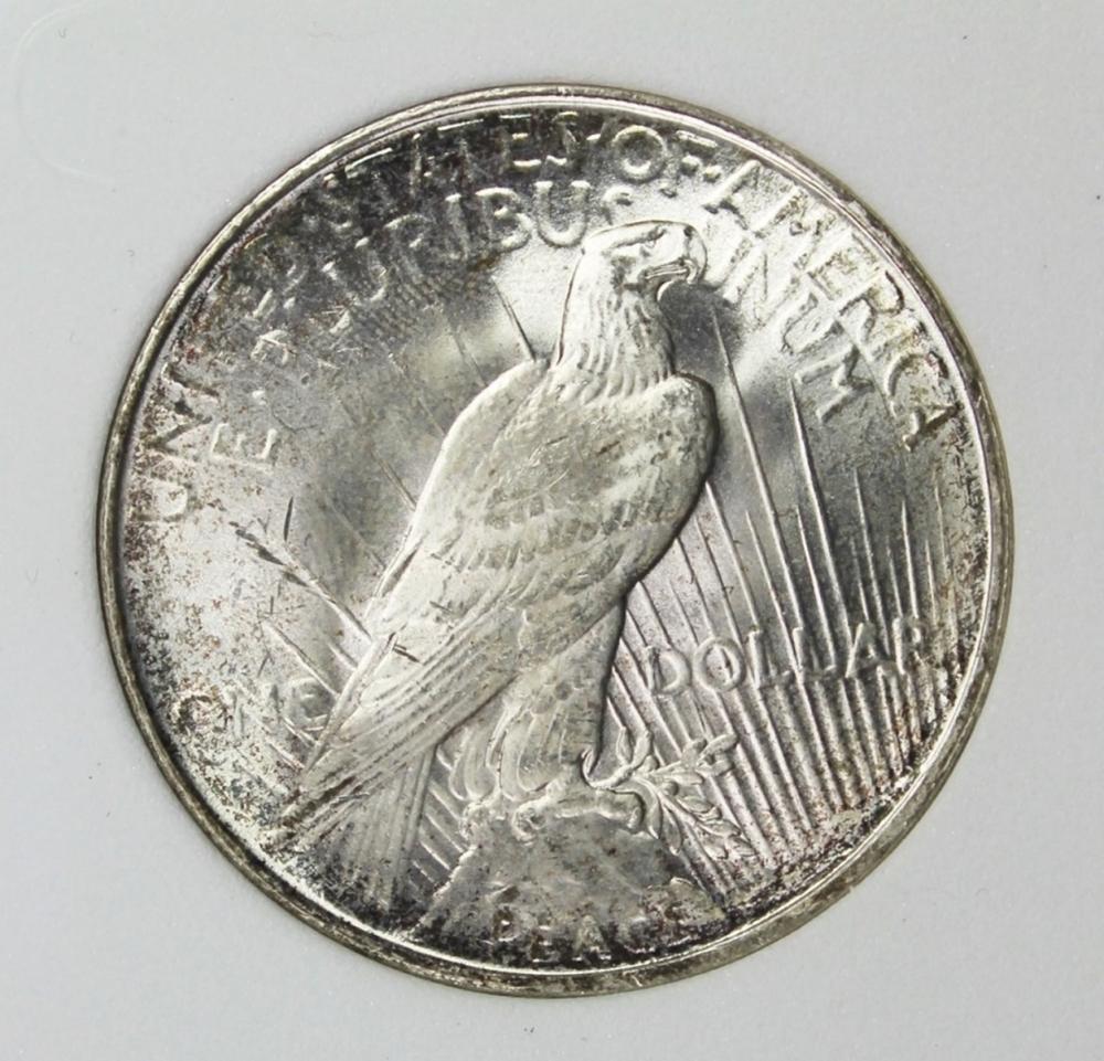 Lot 332: 1922-D PEACE DOLLAR