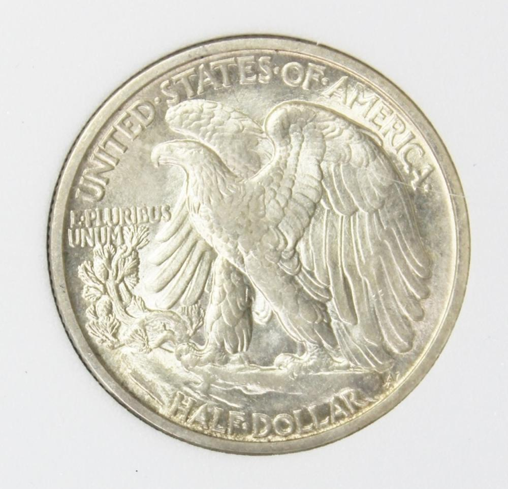 Lot 336: 1917 WALKING LIBERTY HALF DOLLAR