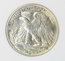 Lot 337: 1935-S WALKING LIBERTY HALF DOLLAR