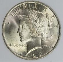 Lot 331: 1923 PEACE DOLLAR