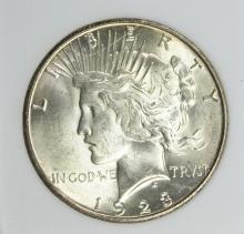 Lot 343: 1923-S PEACE DOLLAR
