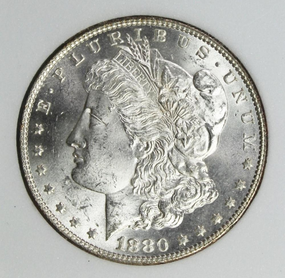 Lot 346: 1880 MORGAN DOLLAR