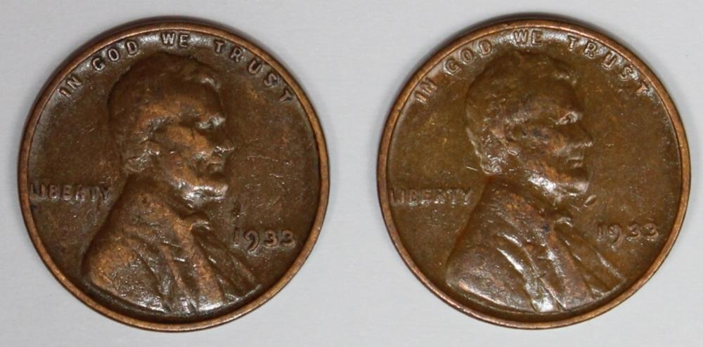 Lot 365: 1933 LINCOLN CENT ROLL