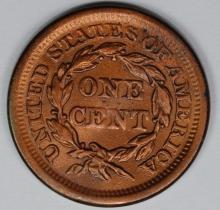 Lot 374: 1854 LARGE CENT