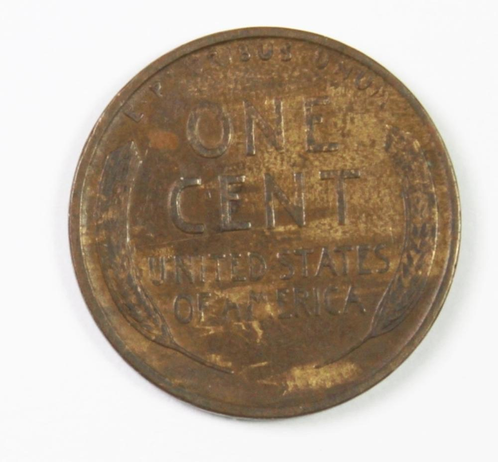 Lot 391: 1910-S LINCOLN CENT