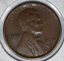 Lot 384: 1914-S LINCOLN CENT
