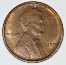 Lot 390: 1909 VDB LINCOLN CENT