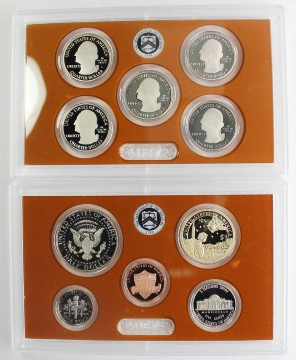 Lot 397: (2) 2019 US PROOF SETS