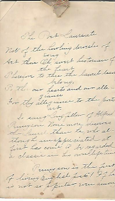 alfred tennyson essays I do not claim that any of this essay is something you can cite as a source   twenty years before alfred tennyson was named poet laureate he.