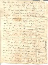War of 1812 Captain Heiner Writes about Service