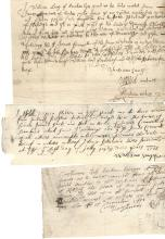 14 Receipts from the Historic Town of Kilsyth -- 1696 - 1708