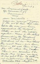 Chain Store Pioneer James Cash Penney Reviews Manuscript -- 2 Piece Lot