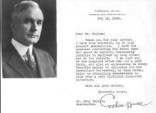 Statesman Cordell Hull, Renowned for His Work with the United Nations; Known as
