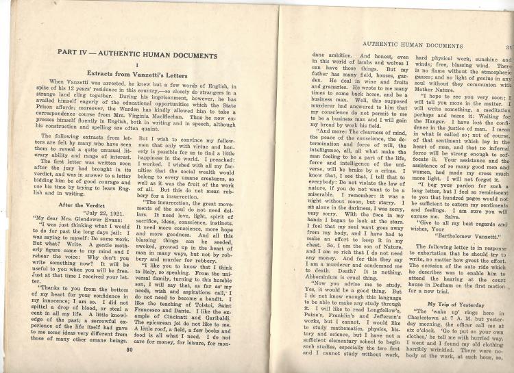 a description of the two italians nicola sacco and bartolomeo vanzetti associated with anarchists Law professor brad snyder discusses the controversy surrounding the 1920  sacco-vanzetti murder case in massachusetts.