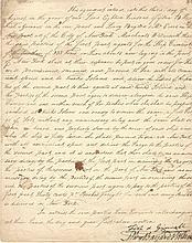 Preserved Fish, William Bayard Jr. -- Friend of Alexander Hamilton -- Enter Shipping Agreement