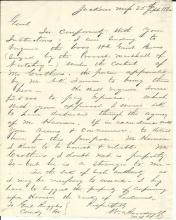 Civil War Col. Broadwell Transports Seized Cattle; Confederacy Short of Food
